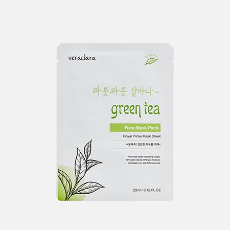 Маска с зеленым чаем