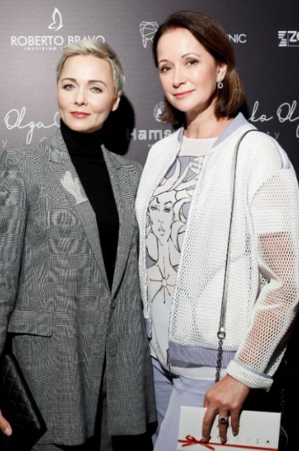Дарья Повереннова и Ольга Кабо