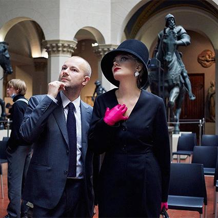 Гоша Рубчинский и Рената Литвинова