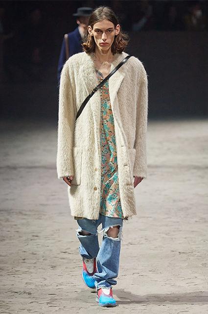 Мужской показ Gucci сезона осень-зима — 2020