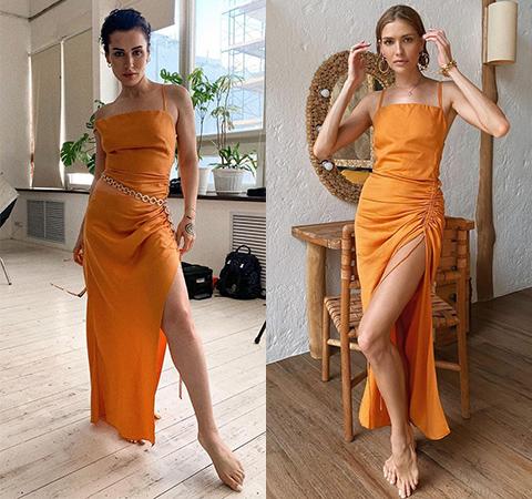 Битва платьев: Тина Канделаки против Елены Перминовой